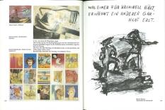 Wahrheit ist Arbeit, W. Büttner, M. Kippenberger, A. Oehlen_Seite_128-129