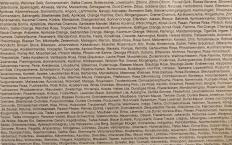 Heimo Zobernig, Detail von o.T., 1999, Siebdruck/Papier/Holz, 36x36 cm, num. u. sign., A.P. 1/3, Artelier Contemporary, Graz (Foto: Marlene Obermayer)