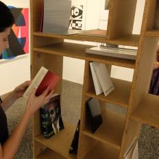 Heimo Zobernig | Editionen im Artelier Contemporary, Graz (Foto: Marlene Obermayer)