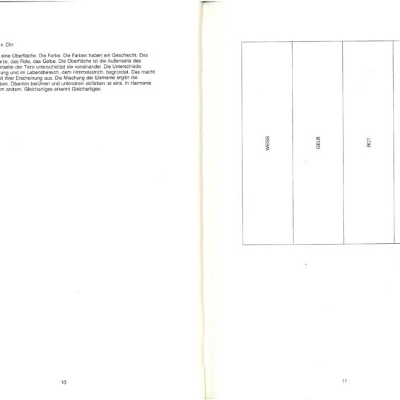 """Ferdinand Schmatz / Heimo Zobernig """"Farbenlehre"""" Springer Verlag, Wien-New York, 1995"""