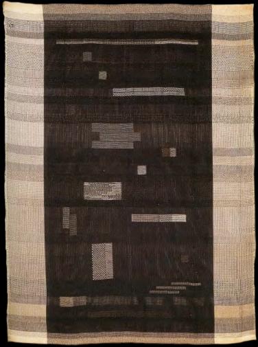 Anni Albers, Ancient Writing, 1936, Kunstseide, Leinen, Baumwolle, Jute, 149,8 x 111 cm, National Museum of American Art, Smithsonian Institution, Washington, D.C.