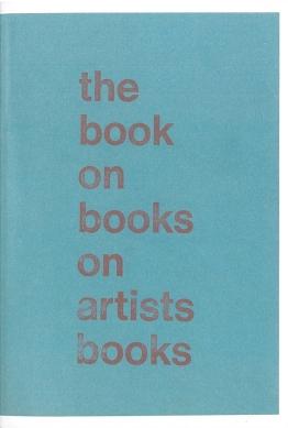 Arnaud Desjardin, The Book on Books on Artists Books [BoBoAb], Everyday Press, London 2013 (2nd Ed.)