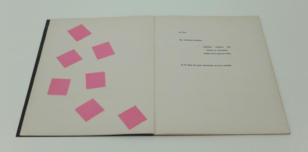 Ausstellungsansicht mumok: Marcel Broodthaers. Pense-Bête (Eselsbrücke), 1964, Herbert Foundation, Gent