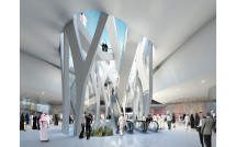 Geplantes Museum of Middle East Modern Art in Dubai, Innenansicht, UN Studio, Stand 2008