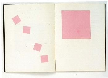 Pense-Bête, 1963-64 (Bilder aus: Marcel Broodthaers. Catalogue des Livres / Catalogue of Books / Katalog der Bücher 1957-1975, Galerie Michael Werner, Köln)