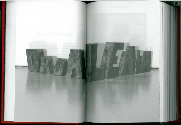 Johan F. Hartle / Rainer Ganahl (Ed.) | DADALENIN (Edition Taube 2013)