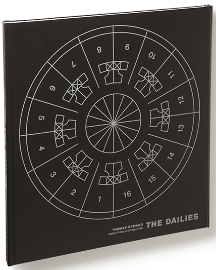Künstlerbuch | Artists' book: Thomas Demand. The Dailies (Foto: MACK Books 2012)