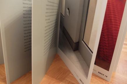 Künstlerbuch | Artists' book: Thomas Demand. The Dailies, MACK Books 2012 (Foto: Marlene Obermayer)