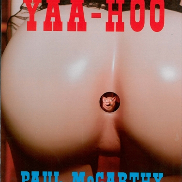 Künstlerbuch | Artists' book: Paul McCarthy. Yaa-Hoo (Verlag der Buchhandlung Walther König 1998)