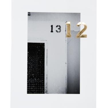 Edition: Lukas Gansterer / Clemens Wolf – 12 Pigmentprint und 24K Blattgold auf Hahnemühle Photorag Ultrasmooth, 2013