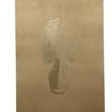 Edition: Clemens Wolf – Golden Duck I Siebdruck und Sprühlack auf Papier, 2013