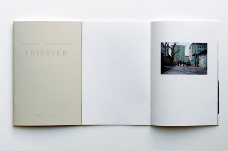 Martin Behr, Martin Osterider: Triester, Band / Volume 1 Edition Camera Austria 2013