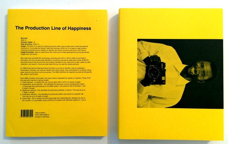 Christopher Williams. The Production Line of Happiness (Yellow Edition) und Printed in Germany (Yellow Edition), 2014.