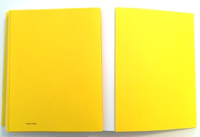 Christopher Williams. Printed in Germany (Yellow Edition), 2014 (Foto: Marlene Obermayer)