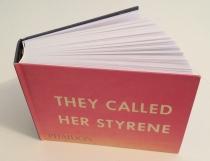 Künstlerbuch   Artists' book: Ed Ruscha. THEY CALLED HER STYRENE (Phaidon Press Limited, London 2000)