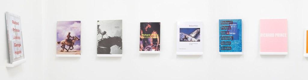 Bibliothèque d'un amateur. Richard Prince's Publications 1981-2014 (source: Motto Berlin)