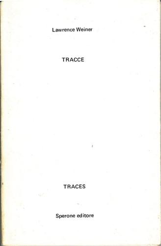 1970 - Tracce