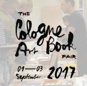 01-03 September 2017   Cologne Art Book Fair, Cologne, Germany