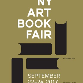 21-24 September 2017 | NY Art Book Fair, New York City, USA
