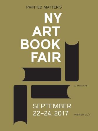 21-24 September 2017   NY Art Book Fair, New York City, USA