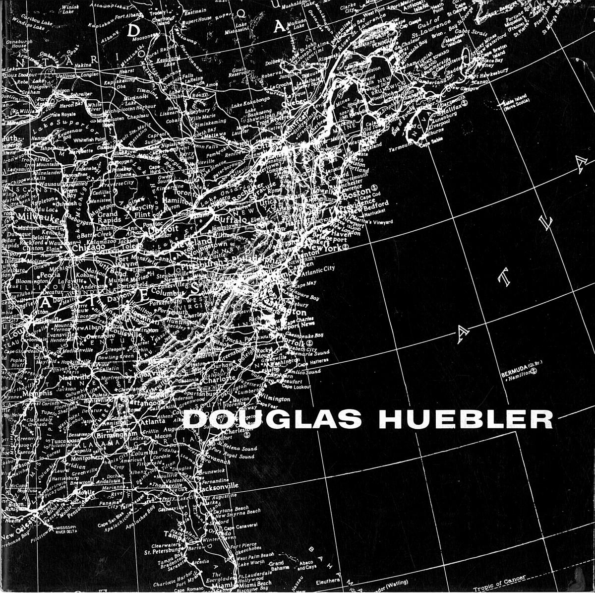 Der Katalog-als-Ausstellung: Douglas Huebler. November 1968 (Zusammenfassung Masterarbeit 2017)