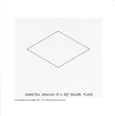 Abb.: Kat. Nr. 14. Drawing, in: Douglas Huebler, November 1968, Seth Siegelaub, New York, NY 1968.