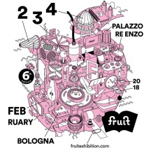 02-04 February 2018 | Fruit Exhibition. Independent Art Book Fair, Bologna, Italy