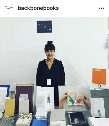 Claudia de la Torre / backbonebooks, Booth N06