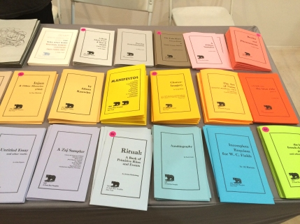Primary Information Booth, NY Art Book Fair, 2016, Foto/Courtesy: Marlene Obermayer