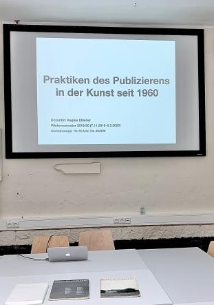 Praktiken des Publizierens in der Kunst seit 1960